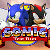 Play Sonic Test Run